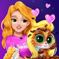 Friv Blonde Princess Kitty Rescue Online